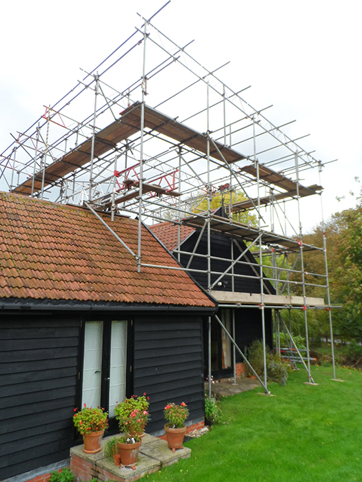 Domestic Scaffolding Gallery New Builds Amp Extensions